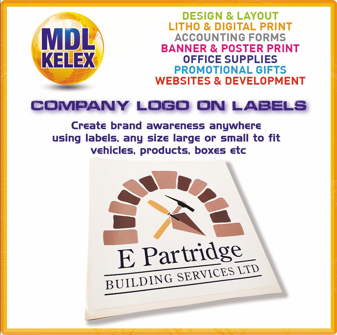 MDL - EP Builder Logo on Labels