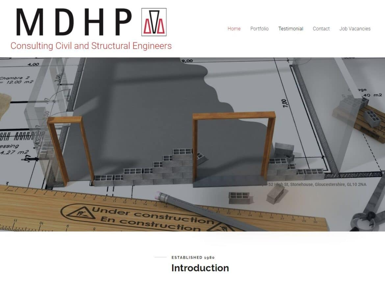 MDHP New Website Design