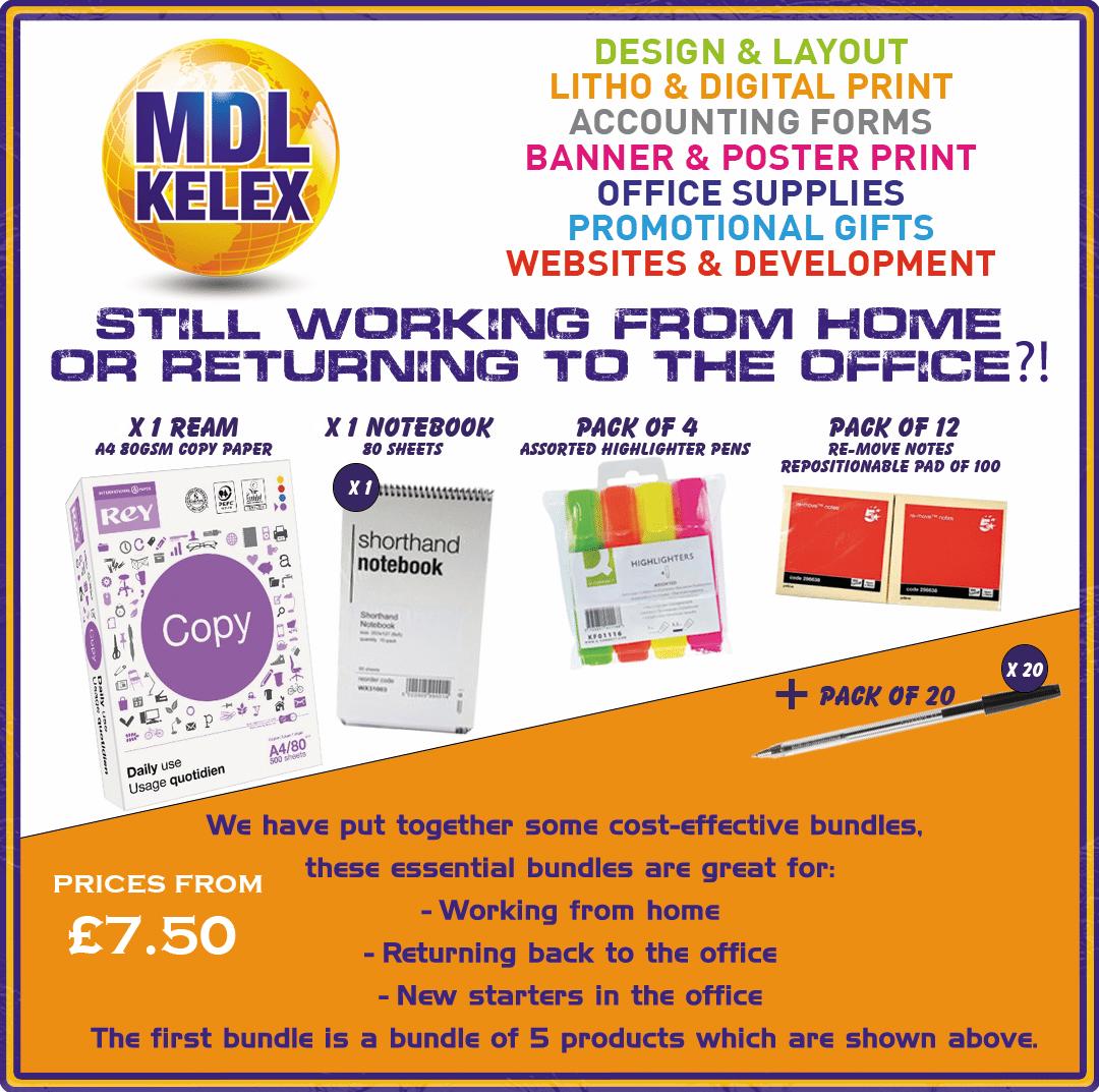 MDL - office supplies essentials
